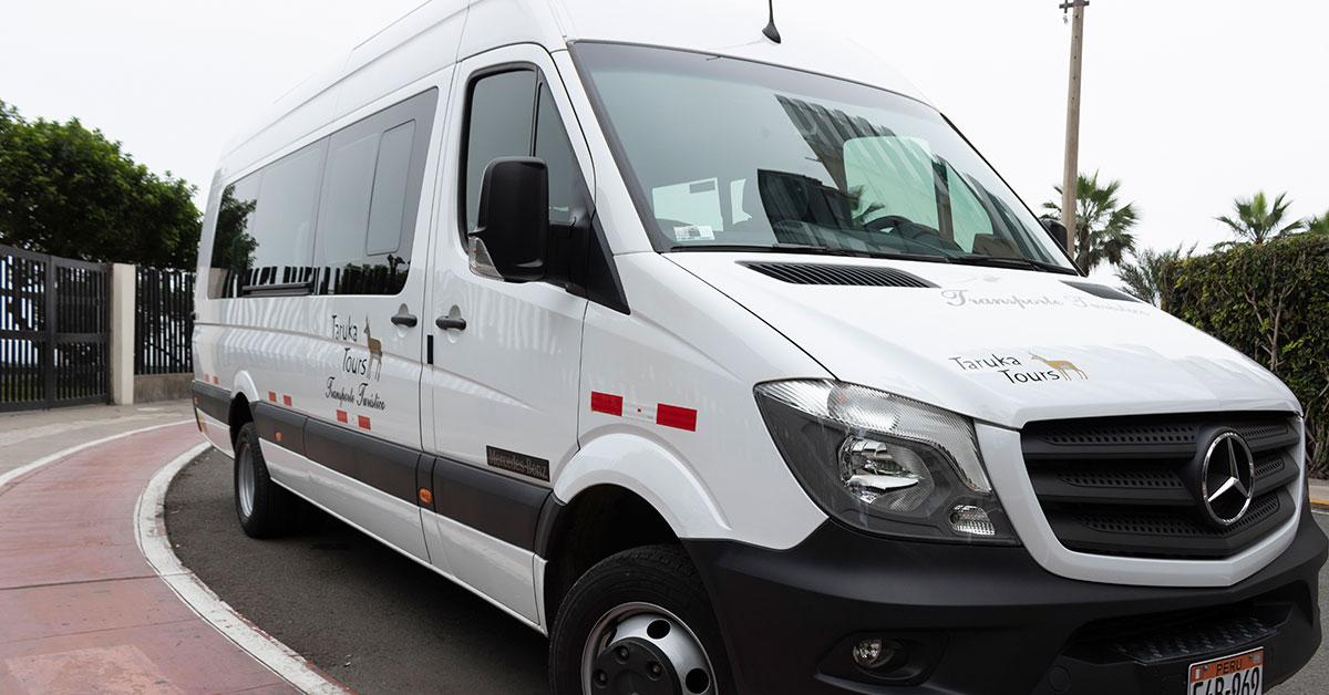 Transporte turístico en sprinter