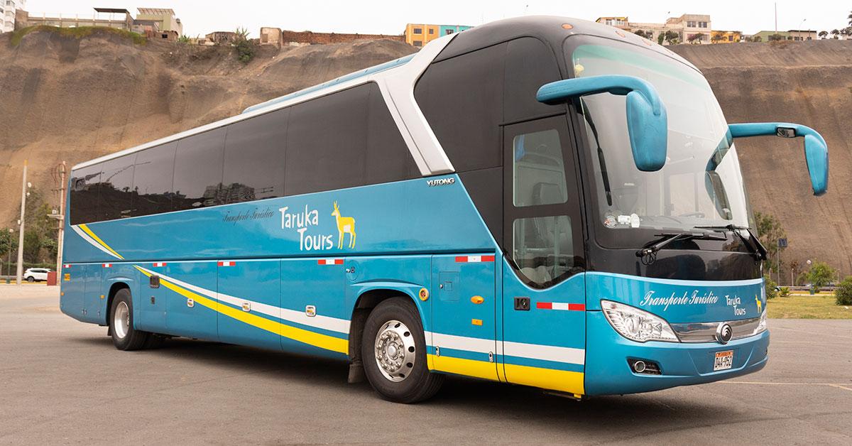 Transporte turístico en bus